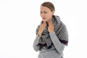 喉の渇き・痰がよく出る
